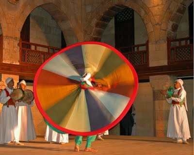 Sufi Dancer Cairo Egypt