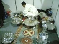 На щанда на Мароко се предлагаше вкусен чай.