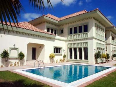 Трудно е да живееш в най-богатата част на Дубай.Но след като цените паднаха, тази къща струва едва 3.5 млн. долара.
