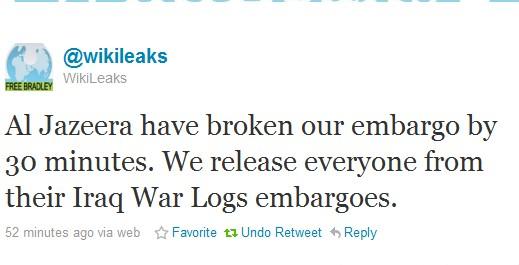 Wikileaks struntar i varningar